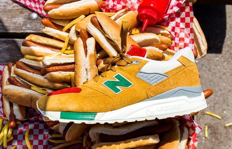 J. Crew and New Balance Collaborate for  Condiments  Sneaker  e6f0985196df