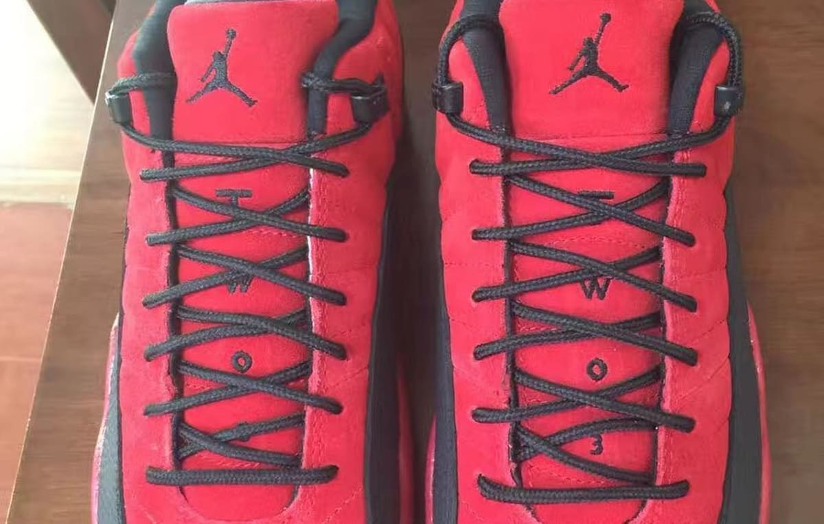 bfe3f8e0006 Air Jordan 12 Low Raging Bull Red Suede 2017 | Sole Collector
