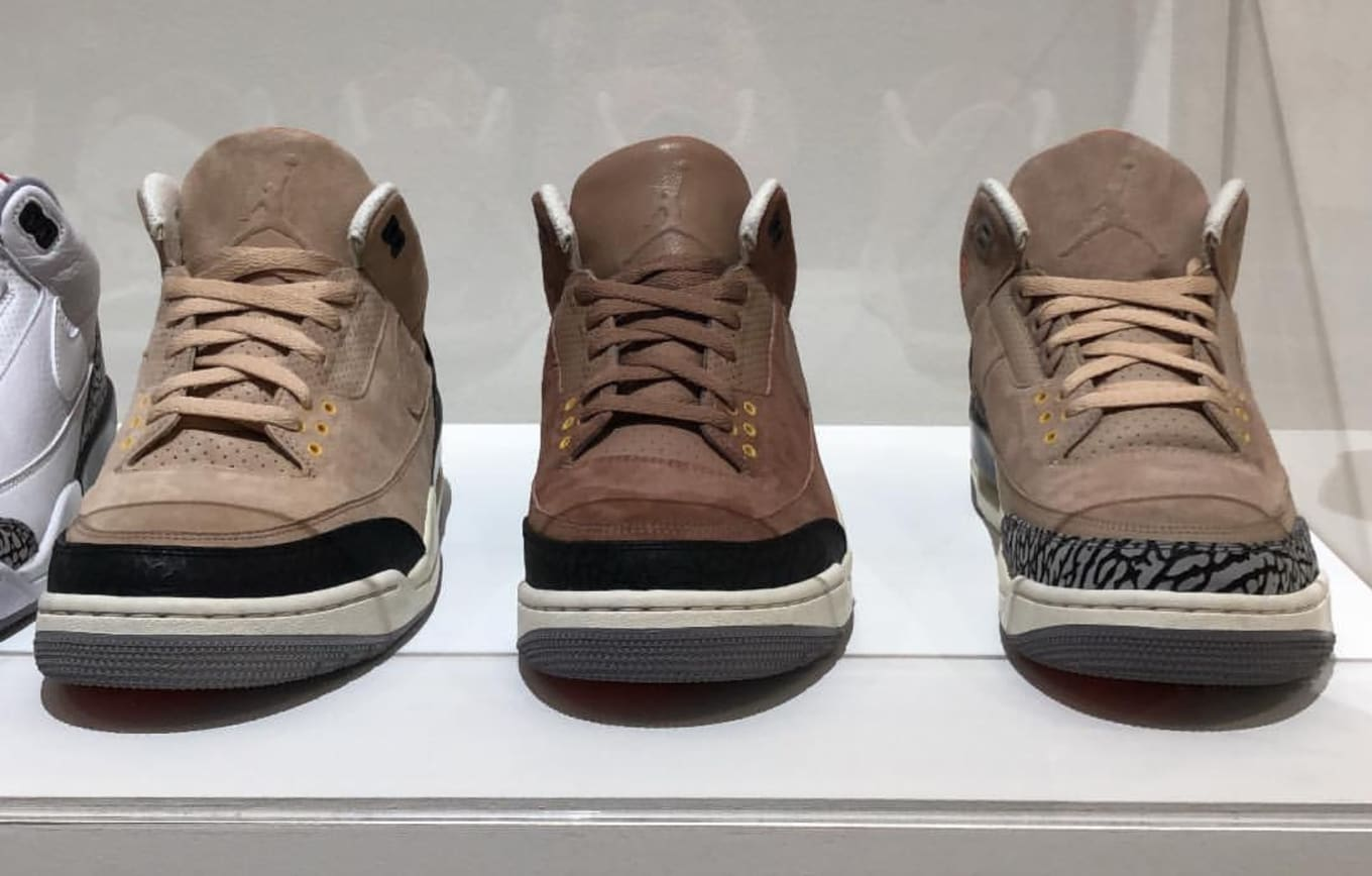 a12d4a90f95a Justin Timberlake JTH Air Jordan 3 Brown Samples