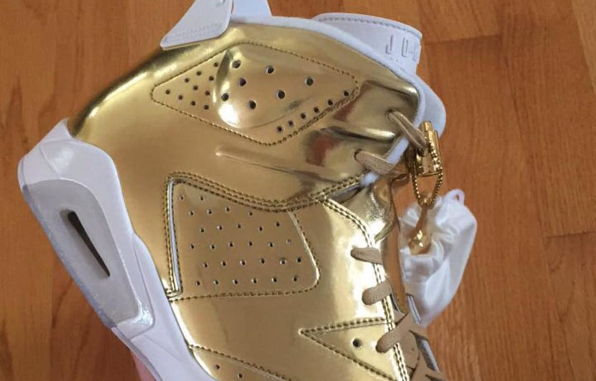 Gold Air Jordan 6 Pinnacle Release Date  096c5275f