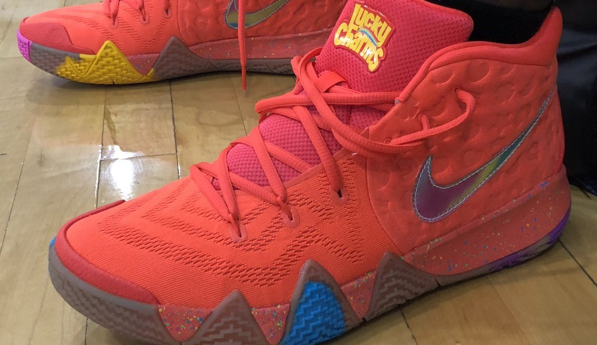 e11a56e510c2 Nike Kyrie 4 Lucky Charms Release Date BV0428-600 | Sole Collector