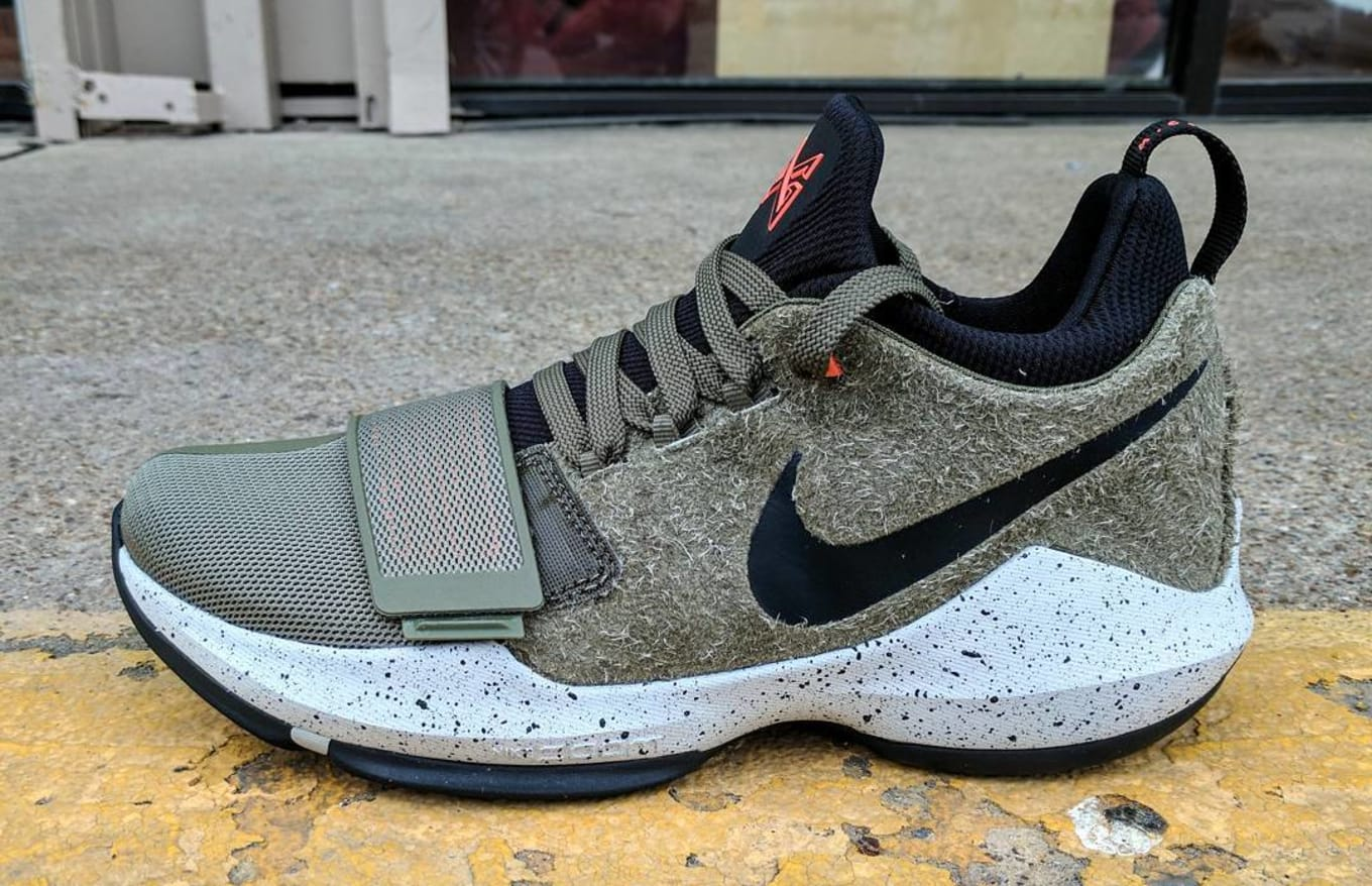 8a97a026689e Nike PG1 Elements Olive Release Date