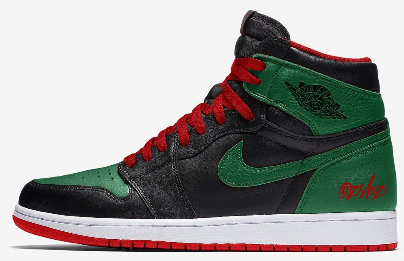 ad33a73f0a7e Air Jordan 1 Retro  Gucci  Release Date 555088-030 Jan. 2020