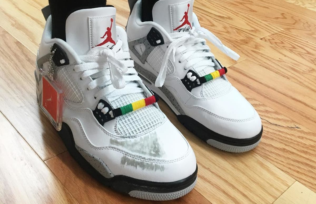 new concept fbf91 649b9 ... australia buggin out air jordan 4 do the right thing sole collector  d70f7 e92d6