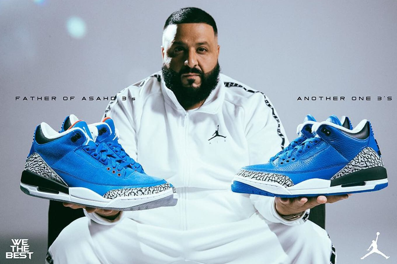 a32722b412d74d DJ Khaled x Air Jordan 3  Father of Asahd  and  Another One  Contest ...