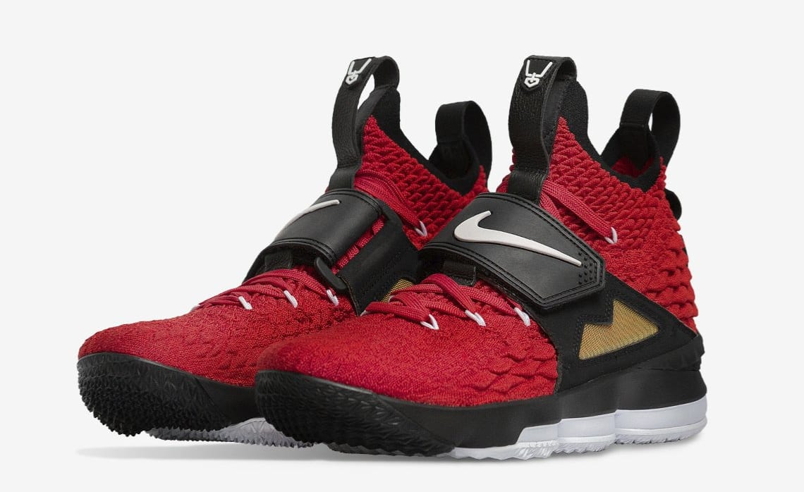 """991b480903db 2018 Nike LeBron 16 """"Bred Black Red Basketball Shoes For Sale"""