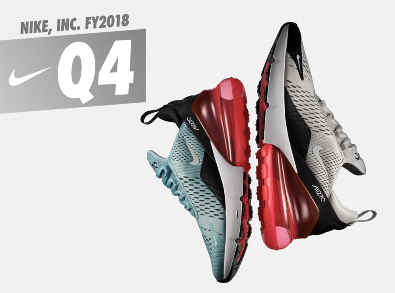 46bedda3b44f Nike Revenue Jumps to  9.8 Billion in Q4