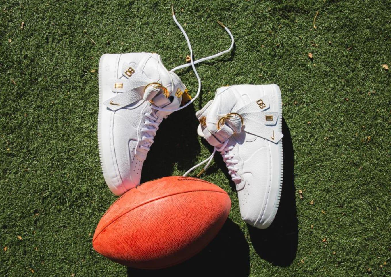 Nike Air Force 1 Mid V.Cruz 'Vachetta Tan & Metallic Gold