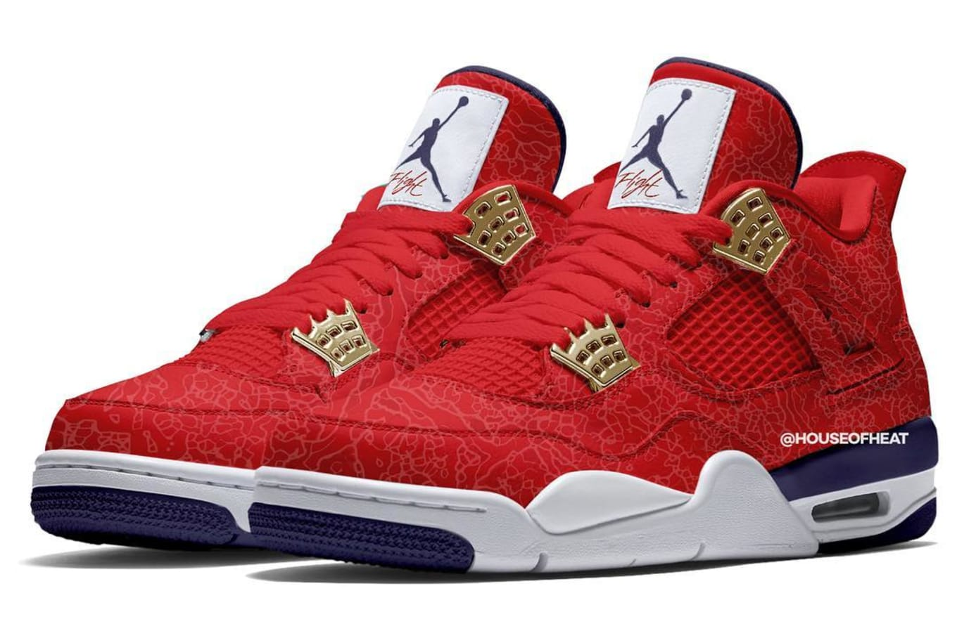 a534e3fb7bf600 Air Jordan 4 Retro SE  Fiba  Release Date July 2019 CI1184-617 ...