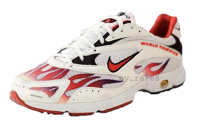 6f8fbbc7a35fc Nike x Supreme Zoom Streak Spectrum Plus Black Black AQ1279-100 ...