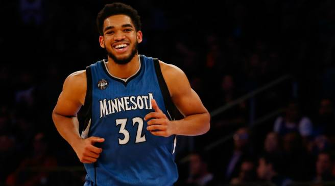 381a949e5a7b Karl-Anthony Towns Uses Custom Nikes to Combat Racism