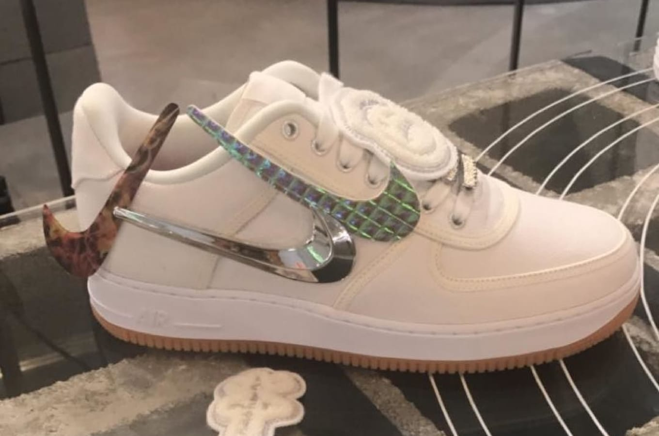 release date c0431 cc4d8 Travis Scott x Nike air Force 1 Low Cactus Jack | Sole Collector