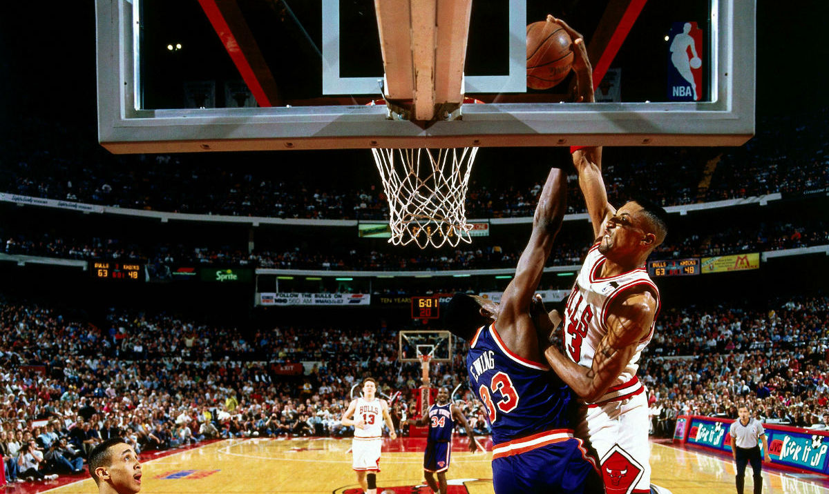 9507fc6a4614c Nike Air More Uptempo Scottie Pippen Patrick Ewing Knicks Dunk Release Date  921948-101 | Sole Collector