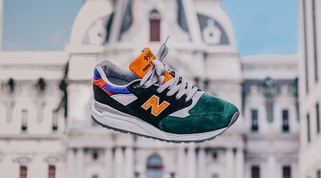 76afb5c9dc4 DTLR Villa s Latest New Balance Collab Honors Philly Sports