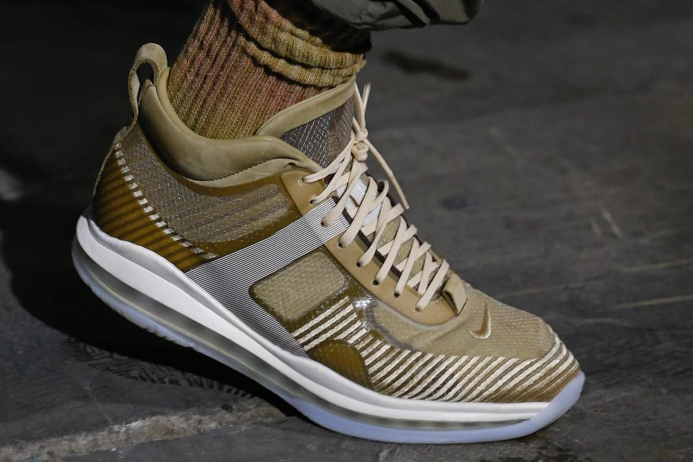 newest b0adf 32f4f John Elliott Debuts New LeBron Icon at New York Fashion Week. The  designer s latest Nike collab.