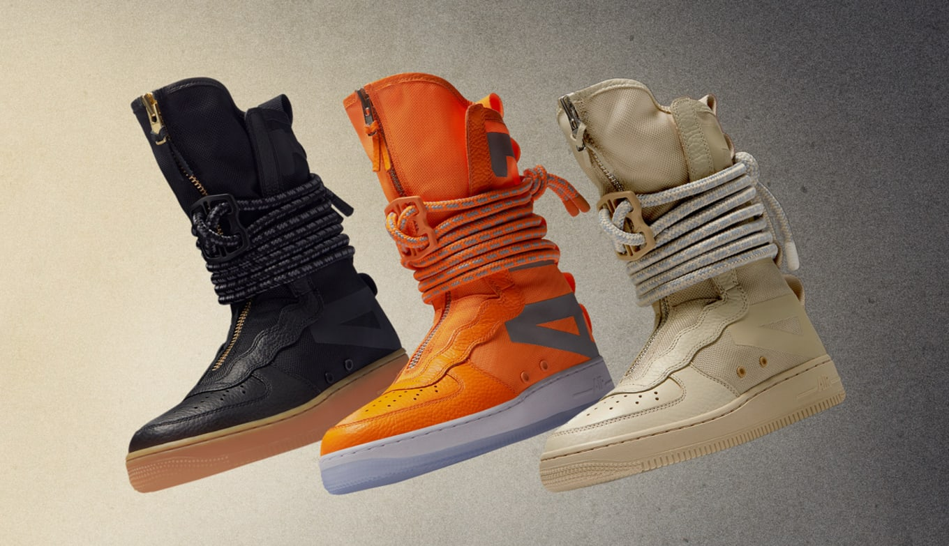 air force 1 hi boot