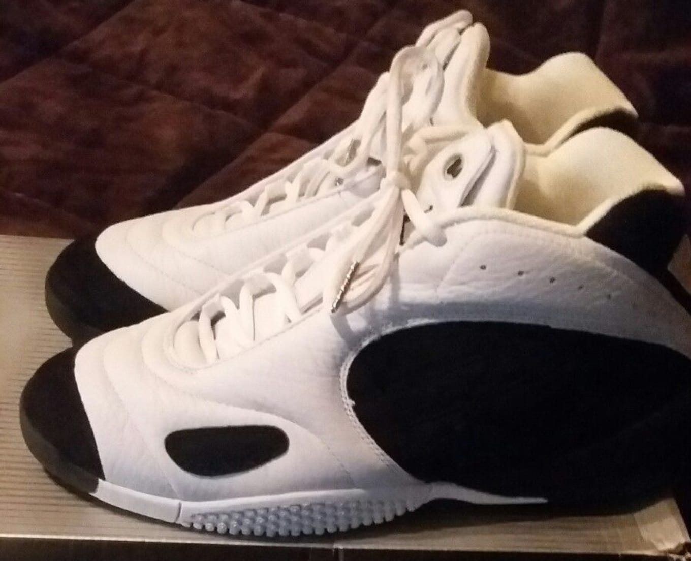 low priced f3d36 ad6cc The History of NFL Sneakers   Sole Collector