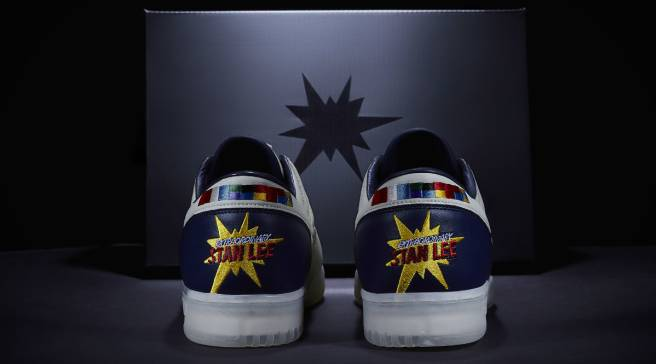 44e49599aa19 Marvel Legend Stan Lee Now Has His Own Sneakers