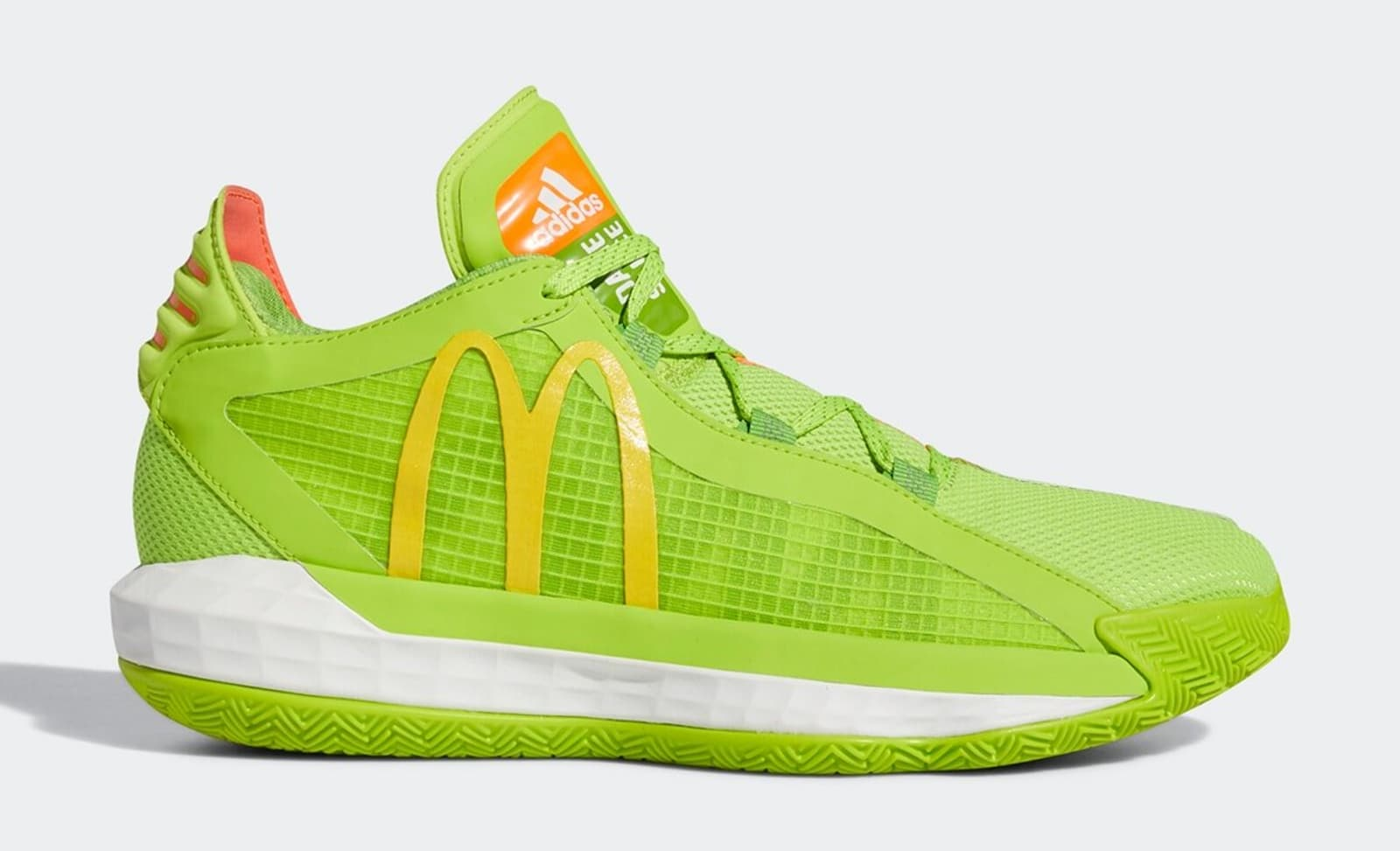 Damian Lillard's Adidas Dame 6 Receives McDonald's Colorway