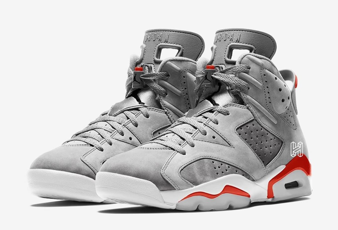 New Jordans 2020.Air Jordan 6 Retro Neutral Grey White True Red Black