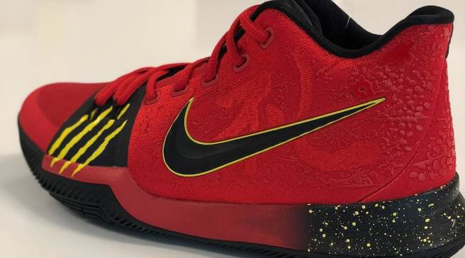ede000cbbd3 Kyrie Irving Shares Unreleased  Bruce Lee  Nike Kyrie 3 Sample