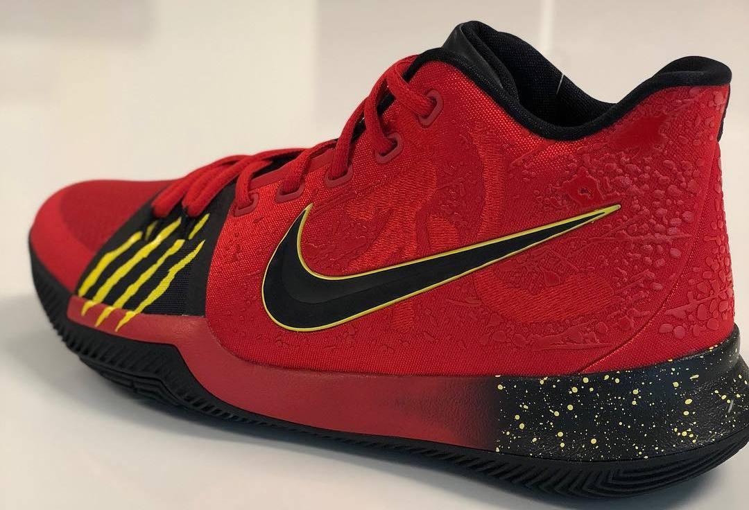 36ccadda15bc ... where can i buy nike kyrie 3 red bruce lee sample sole collector 43084  8bb8c