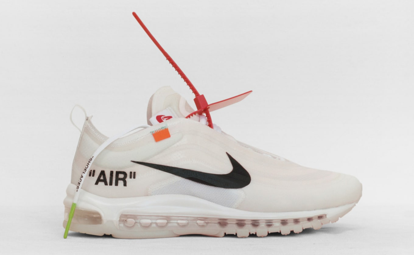 innovative design c9ed3 da506 Off-White x Nike Air Max 97 OG  Elemental Rose Barely Rose  AJ4585 ...