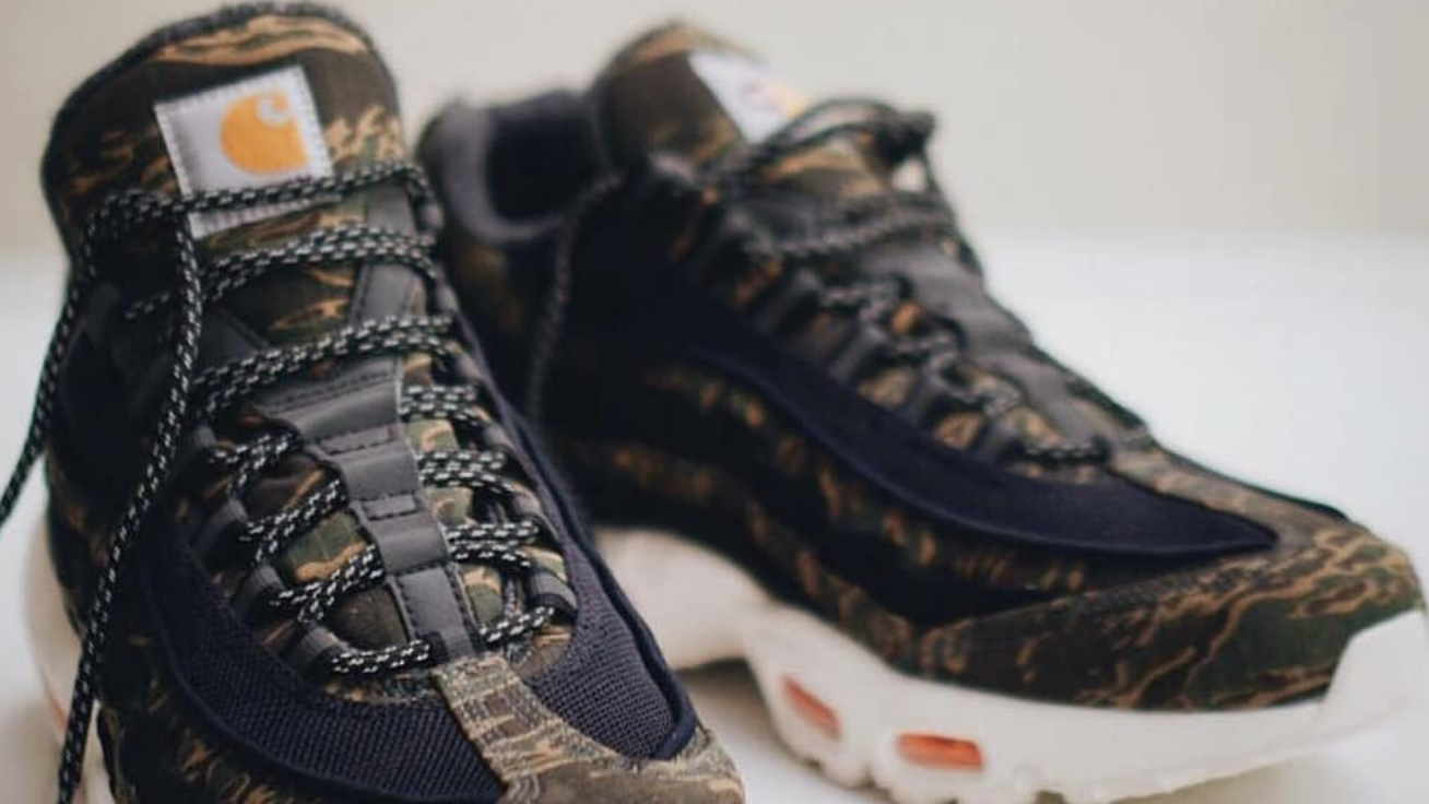 new concept 3f79e bc430 Carhartt WIP x Nike Air Max 95 Collaboration Release Date ...