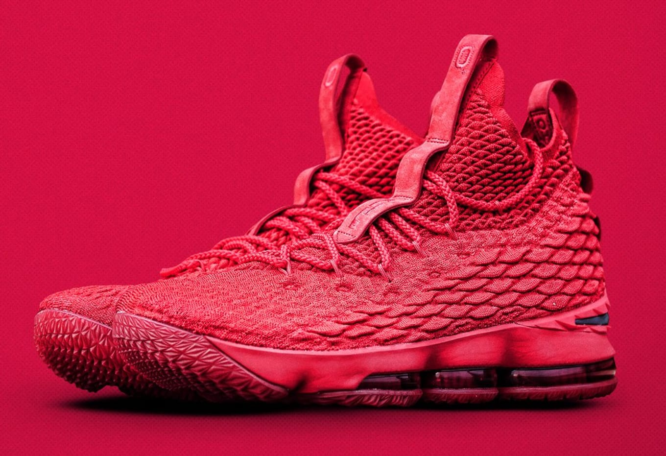 5f480e314ab More Exclusive LeBrons for Ohio State. All-red 15s for  Beat Michigan   weekend.