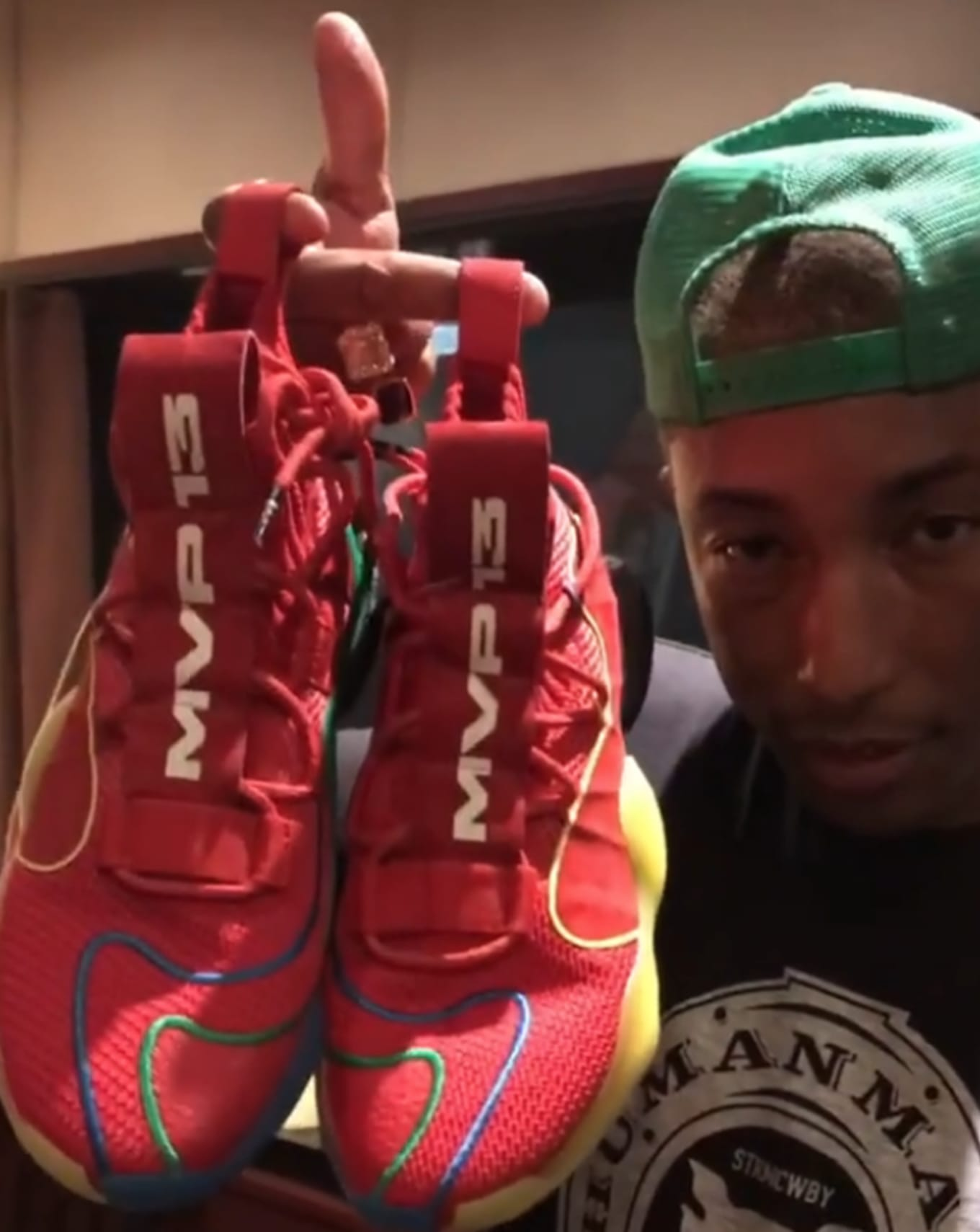 5cc1e549fdd9f Adidas Made Pharrell Sneakers for James Harden s MVP Win.  MVP 13  BYW X.