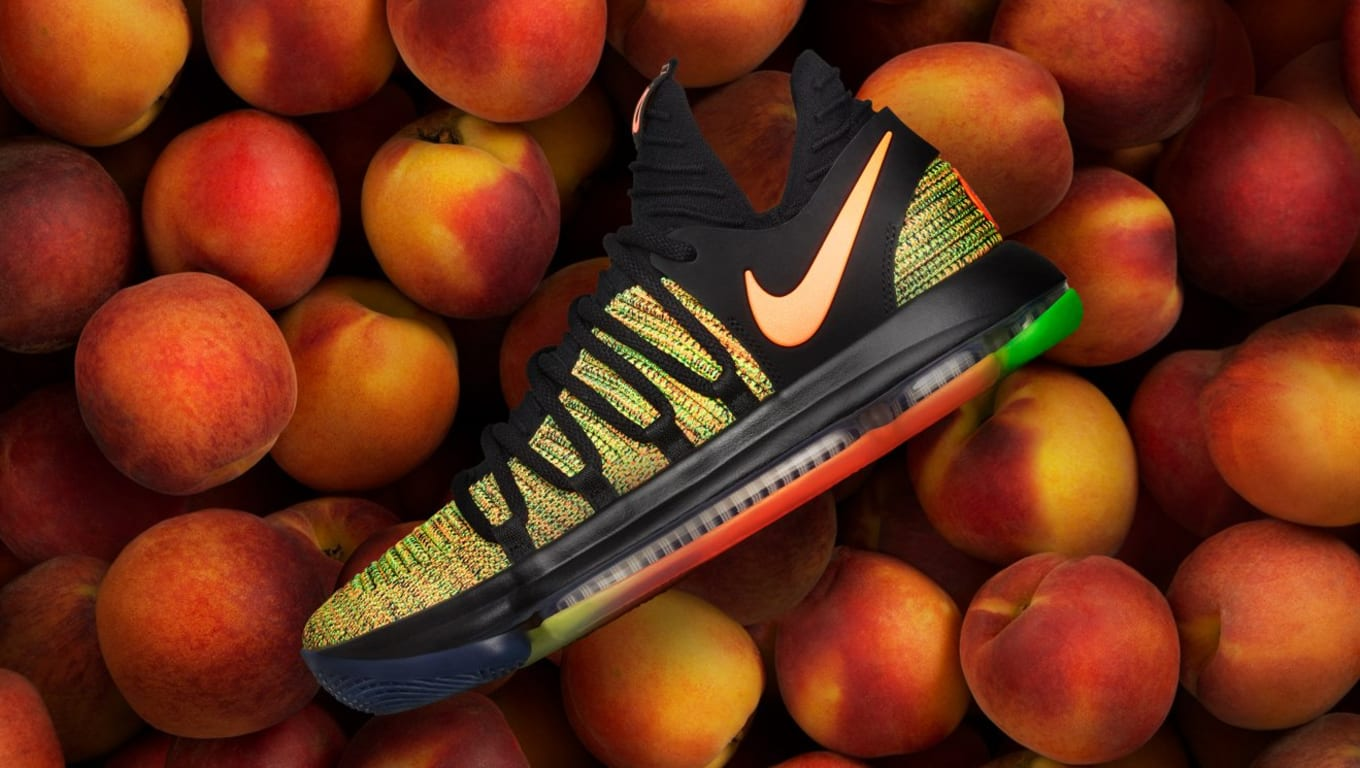 sale retailer ff6a6 d8cd1 Nike Made an Exclusive KD 10 for Peach Jam