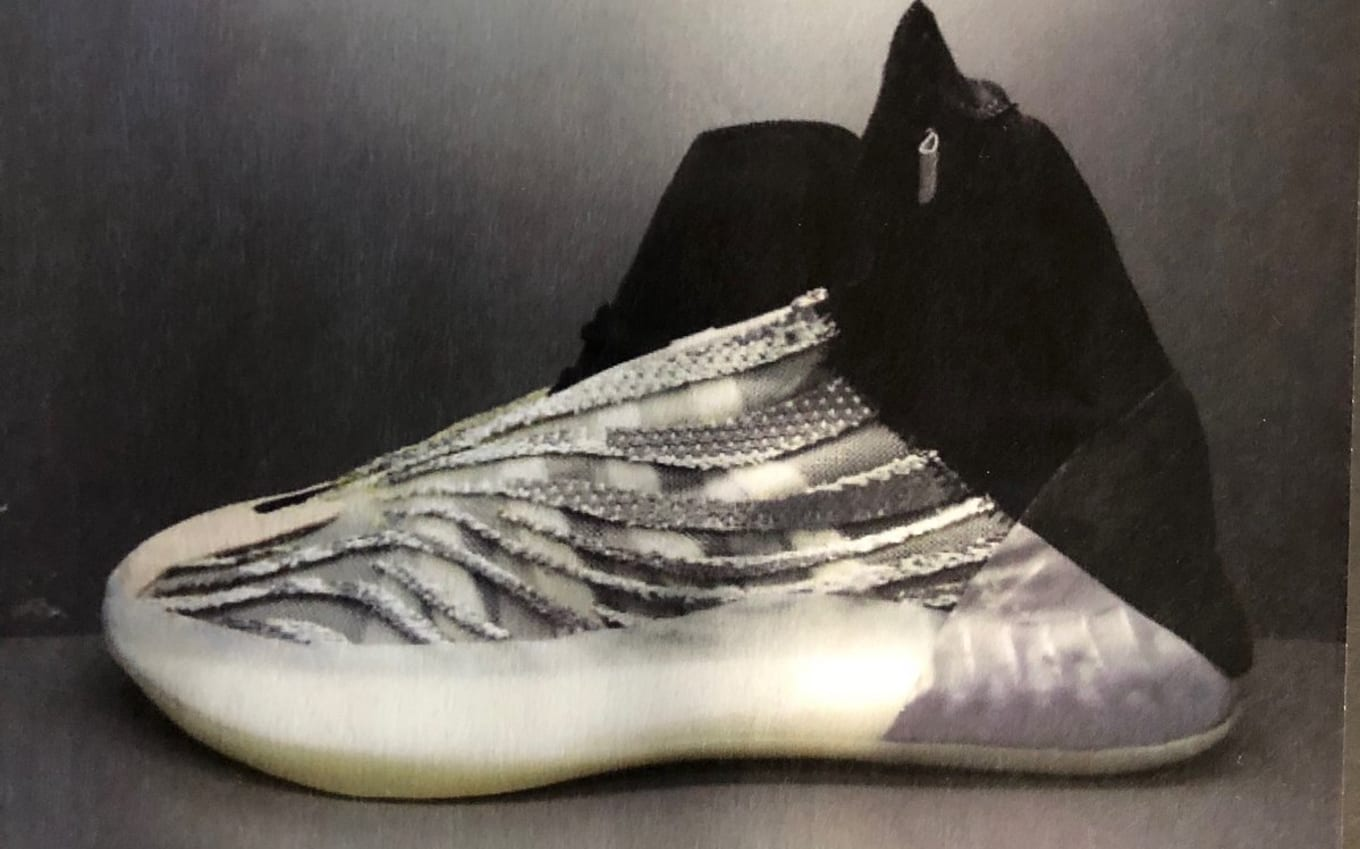 Kanye West Shows Off the Yeezy Basketball Sneaker  61ce75c44