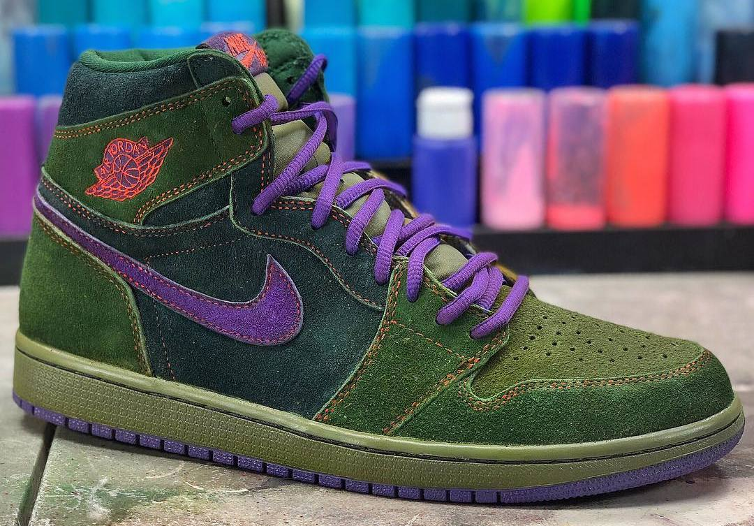 A Customizer Made Skunk Air Jordan 1s For 4 20