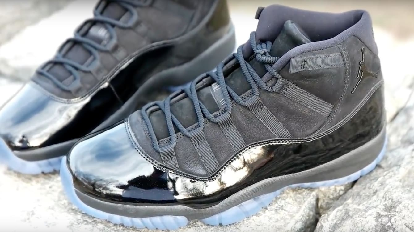 Air Jordan 11 XI Blackout Release Date Pro 378037-005