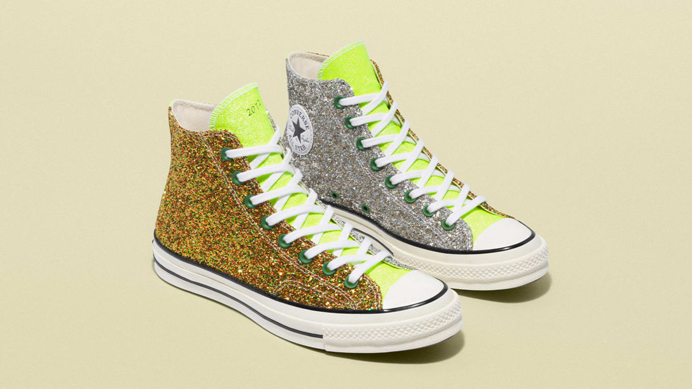1de001729b54 JW Anderson x Converse Chuck 70 Run Star Hike  Glitter  Collection ...