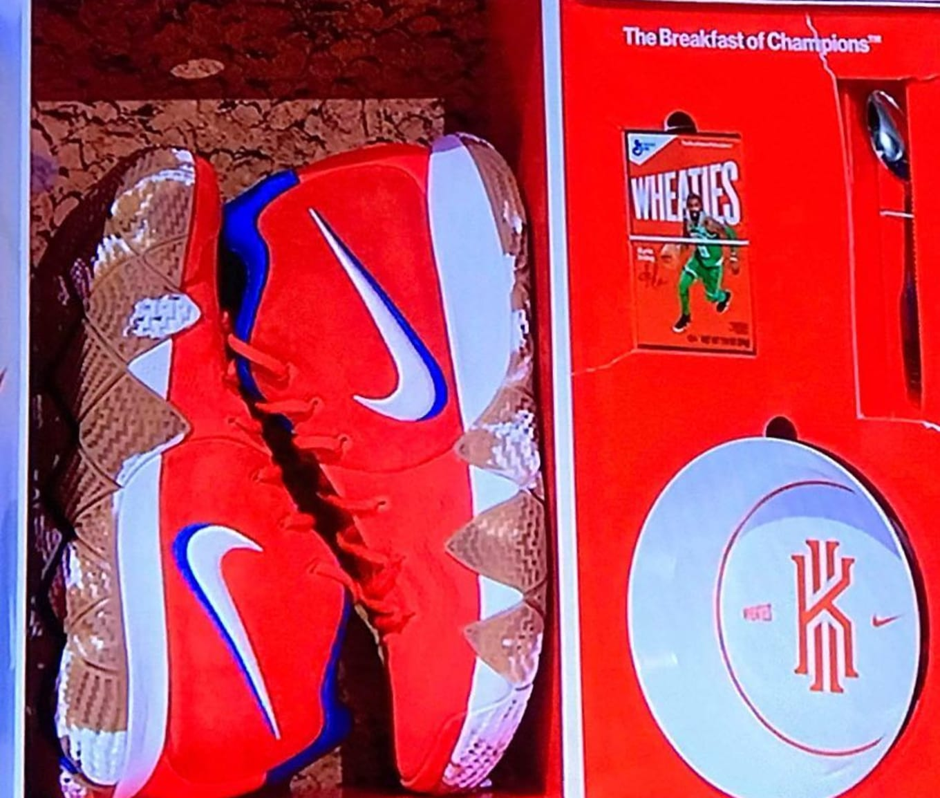 info for 9ad32 e5e47 Nike Kyrie 4 Wheaties Limited to 100 Pairs  Sole Collector