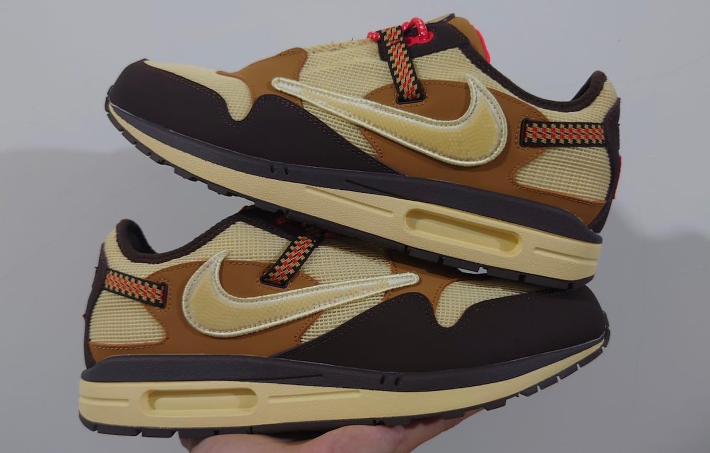 Travis Scott x Nike Air Max 1 Collaboration Release Date   Sole ...
