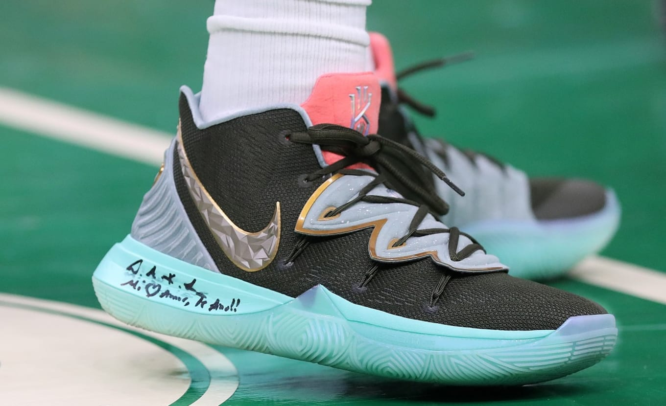 Kyrie Irving Debuts Concepts x Nike Kyrie 5  Ikhet Dusk  Friends and ... 9a4590146