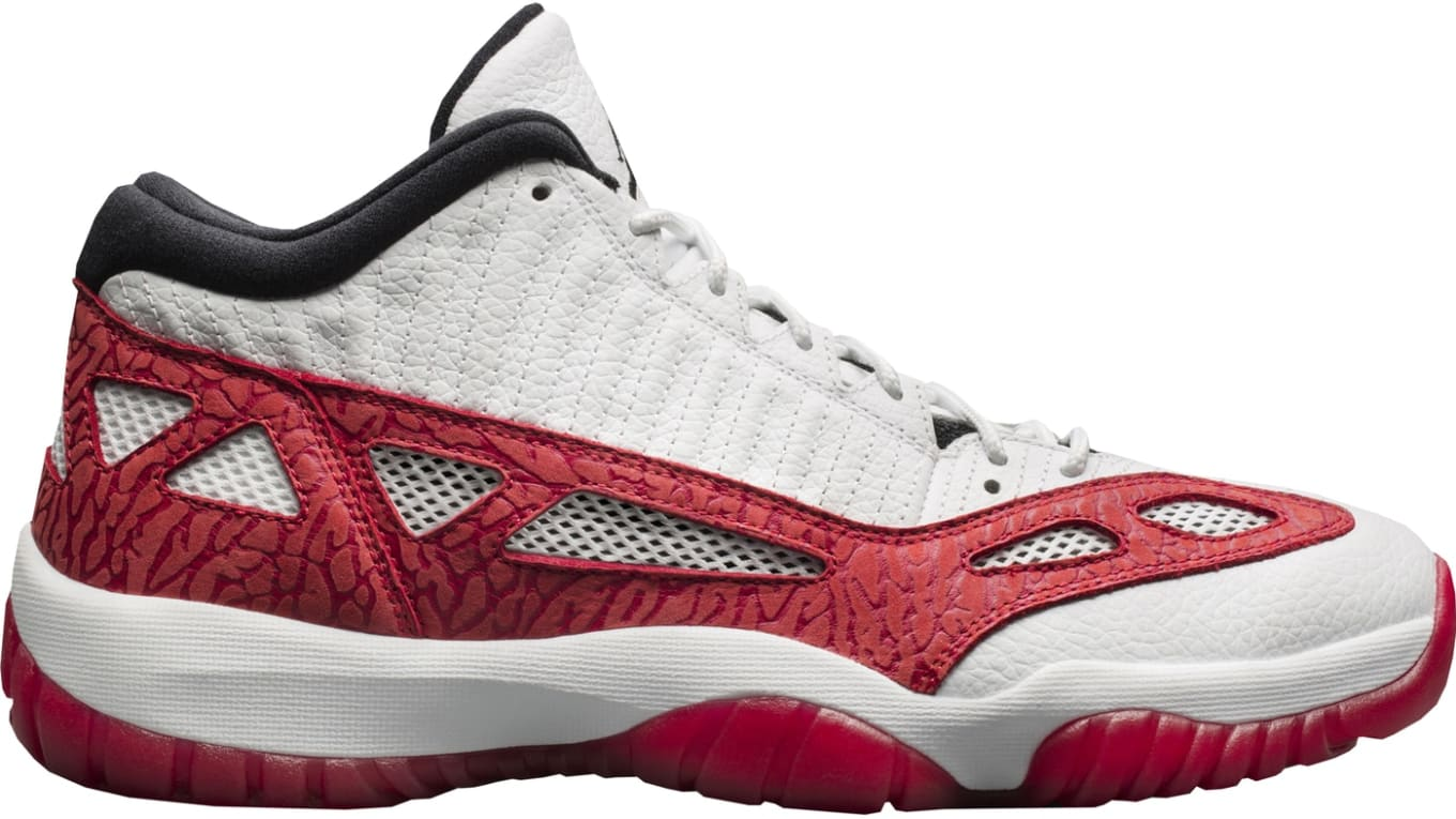 the latest 8d3a4 9ce2e Air Jordan 11 Low IE  Fire Red