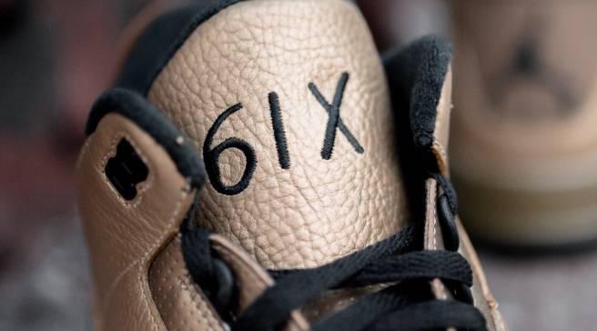 6698df2e0ea9 Detailed Look at Drake s OVO x Jordan 3s