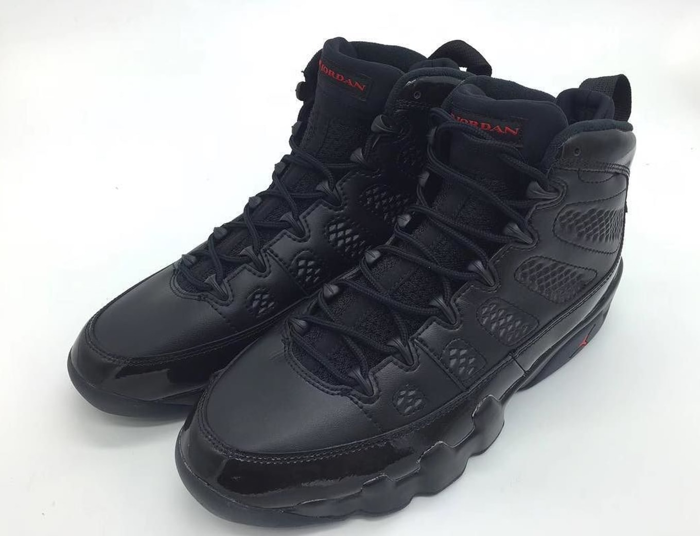 06626108a64273 Air Jordan 9 Black Anthracite Red 2018 Release Date 302370-014 ...