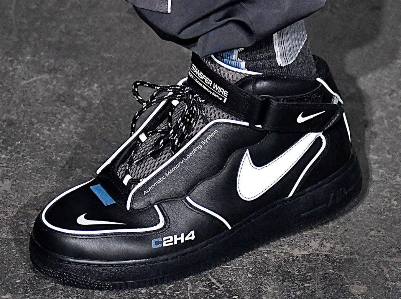 C2H4 Reveals Reflective Air Force 1s | Sole Collector
