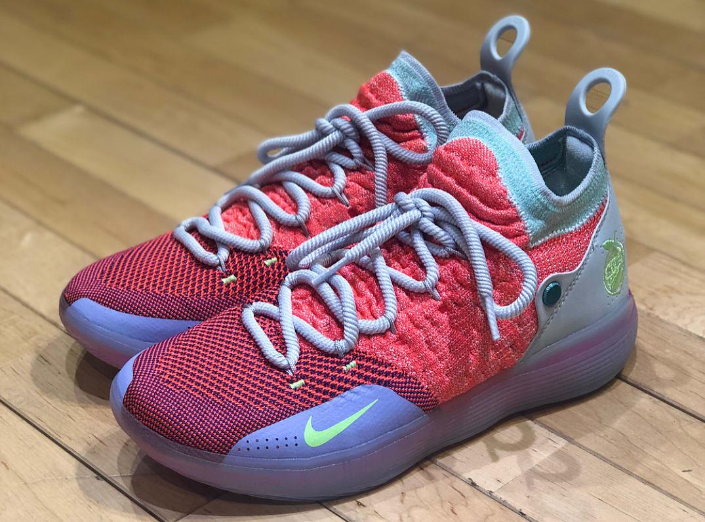 Nike KD 11 \'EYBL\' Peach Jam 2018 First Look | Sole Collector