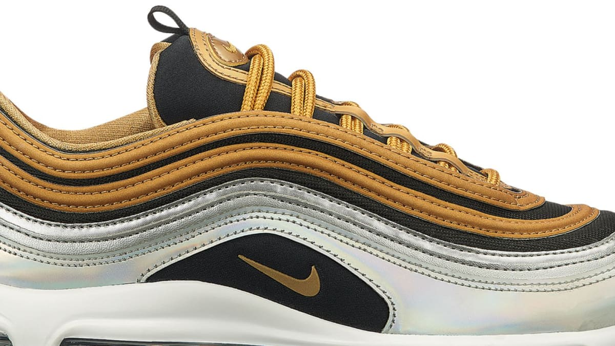 new styles ab4e1 54511 Nike Air Max 97 SE  Metallic Gold  Pack Release Date   Sole Collector