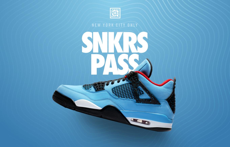 Travis Scott x Air Jordan 4 Available Early Nike SNKRS Pass