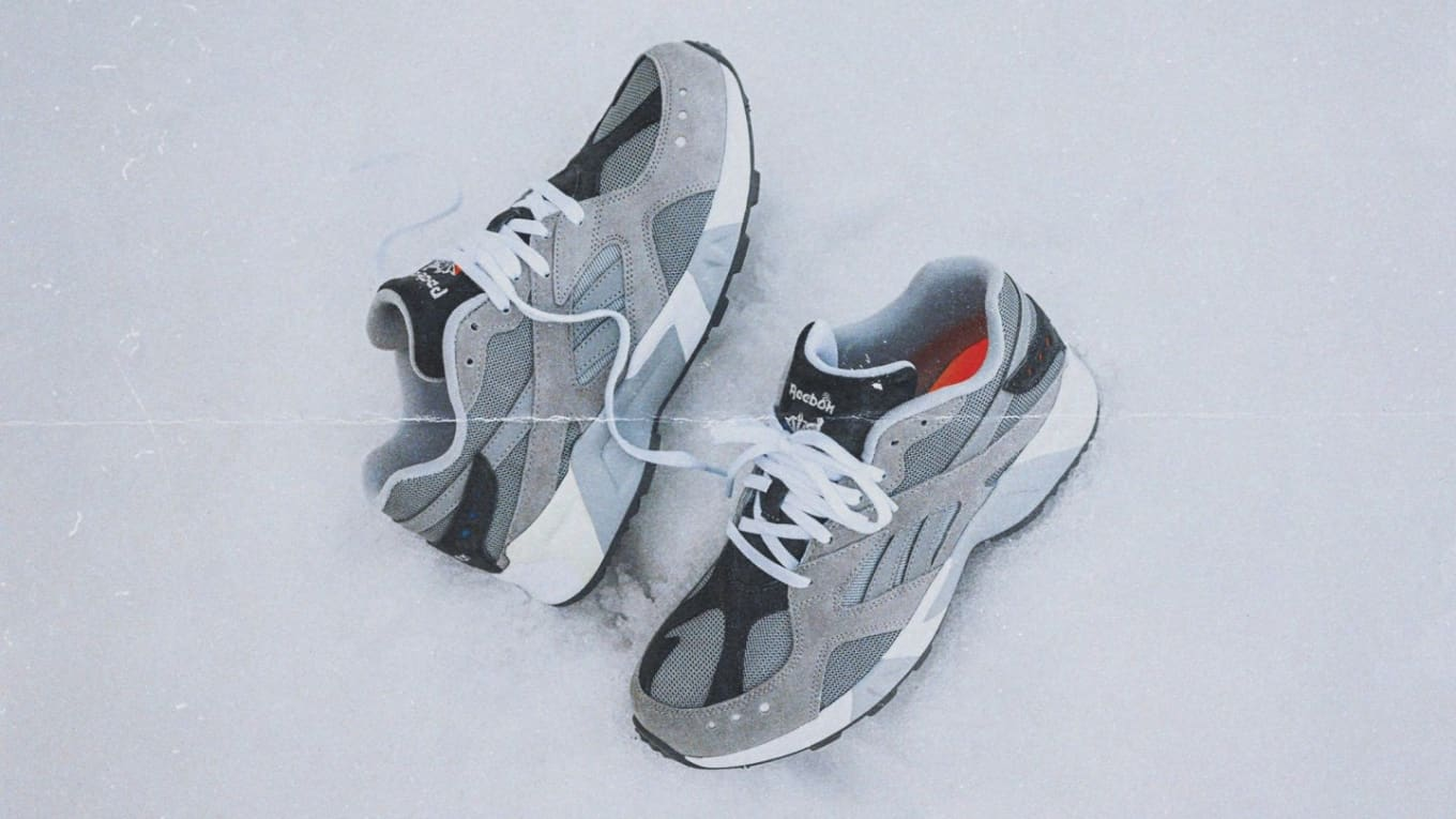 109b05f3c7e Packer Shoes Covers the Reebok Aztrek in Grey. The latest collaboration  from the New Jersey boutique.