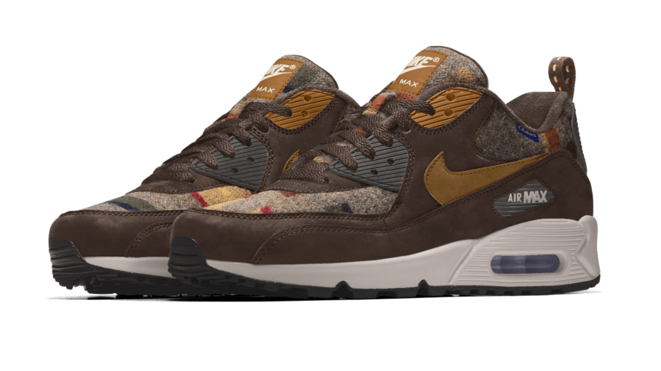 Nike Air Max 90 iD Pendleton Available Now  831bb7214