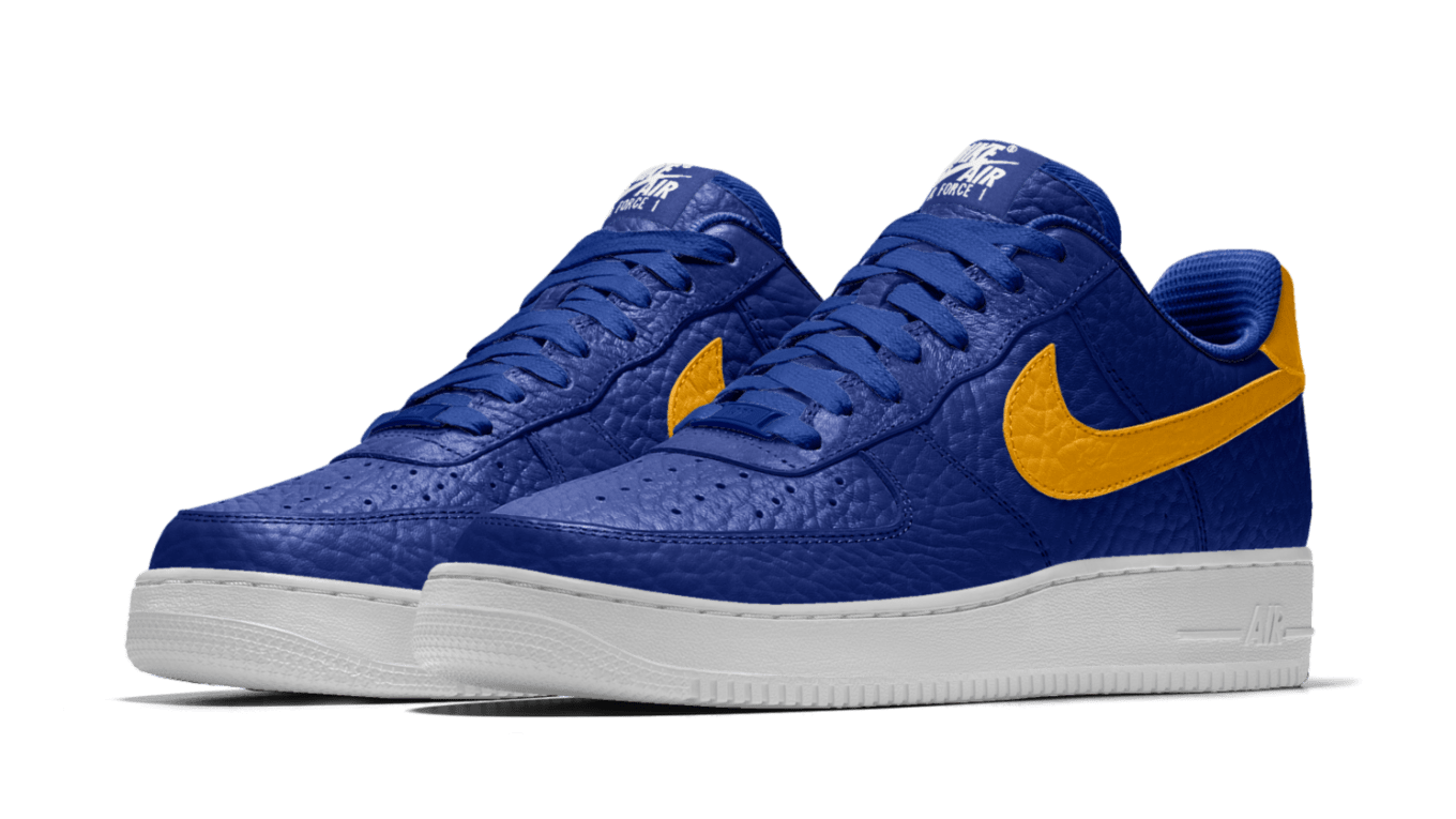 5d71ee08b6f NBA Nike Air Force 1 Teams Custom