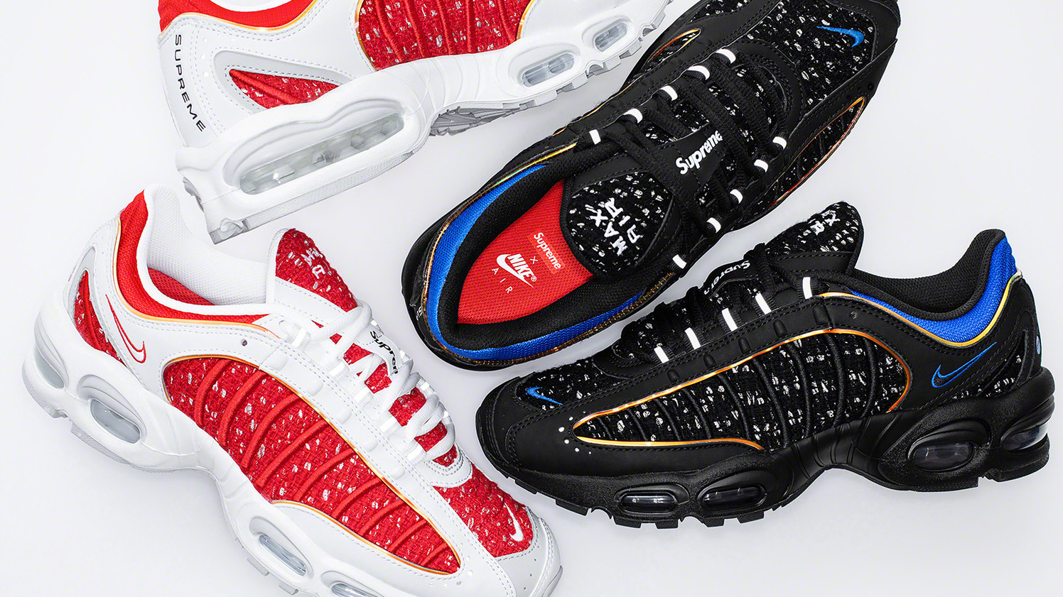 the best attitude e70a8 6f0ca Supreme x Nike Air Max Tailwind 4 Release Date   Sole Collector