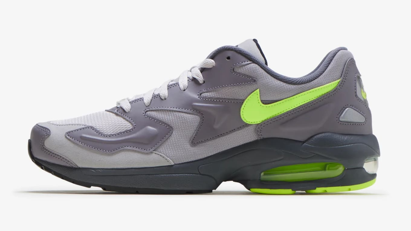 Nike Air Max2 Light 'GunsmokeVolt Vast Grey' CJ0547 001